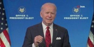 Görevi devir almaya hazırlanan Biden, Covid-19 aşılaması ile ilgili açıklamalarda bulundu