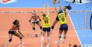 Eczacıbaşı VitrA, Fenerbahçe'ye mağlup oldu