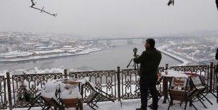 Pierre Loti'de kartpostallık manzara havadan görüntülendi