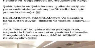 Emniyet müdüründen Mesut Özil'li paylaşımı