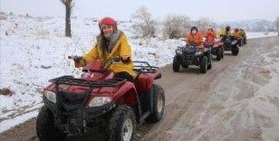 Peribacalarındaki kış aktiviteleri turistleri cezbediyor