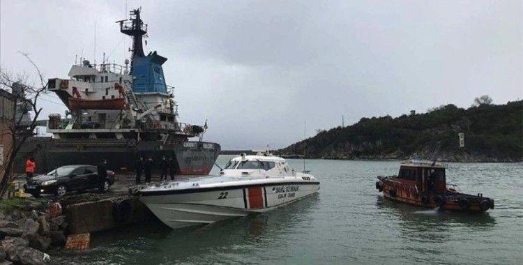 Karadeniz'de batan kuru yük gemisindeki 3 kişiyi arama çalışmaları sürüyor