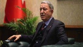 Milli Savunma Bakanı Akar resmi ziyarette bulunmak üzere Bağdat'ta