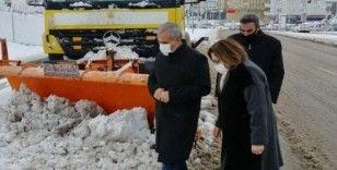 Gaziantep'te beklenen kar yağışı şehre 'Merbaha' dedi