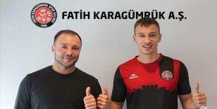 Fatih Karagümrük, Fenerbahçe'nin 18 yaşındaki oyuncusu Serhat Ahmetoğlu'nu kadrosuna kattı