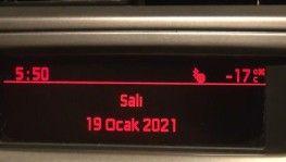 Türkiye bu gece dondu