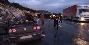 Pozantı-Ankara otoyolunda trafik kazası: 5 kişi hayatını kaybetti, 1 kişi yaralandı