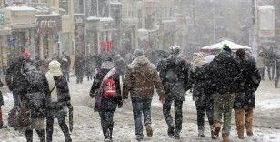Meteoroloji uyardı: Sıcaklıklar, mevsim normallerinin 10 derece altında