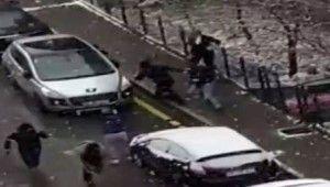 Selçuk Özdağ'a saldırı anının görüntüsü ortaya çıktı