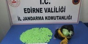 Kapıkule'de 4 milyon TL'lik mariuhana ele geçirildi