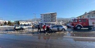 Devrek'te trafik kazası: 3 kişi yaralandı