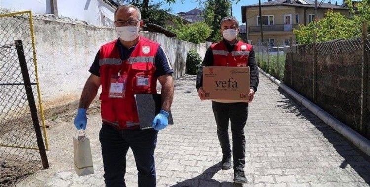 Vefa Sosyal Destek Grupları yaklaşık 9,5 milyon talebe yanıt verdi