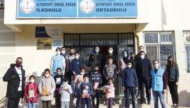 Büyükşehir'den köy okullarına yardım eli