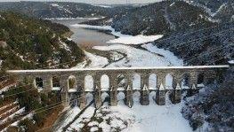 İstanbul'da kar yağışı barajları beslemeye devam ediyor