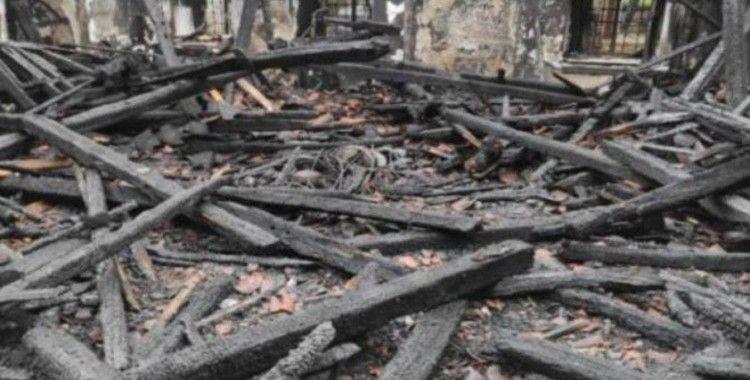Vaniköy Camii'nde çıkan yangına ilişkin savcılıktan takipsizlik kararı
