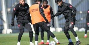 Konyaspor, Antalyaspor maçı hazırlıklarını sürdürdü