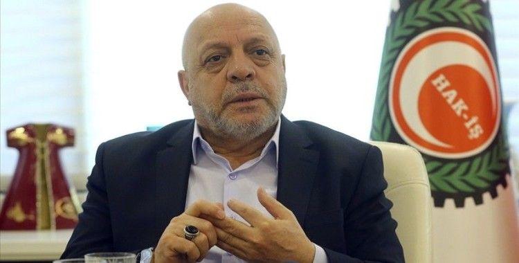Hak-İş Genel Başkanı Arslan: Taşeron sistemin kaldırılması çalışma hayatına dair en büyük reformdur