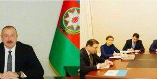 """Aliyev: """"Türk Konseyi, Azerbaycan'ın haklı davasını herkesten çok daha güçlü bir şekilde desteklemiştir"""""""