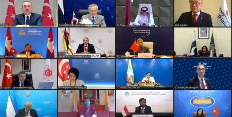 Asya İşbirliği Diyaloğu 17. Dışişleri Bakanları Toplantısı'nda Ankara Bildirisi kabul edildi