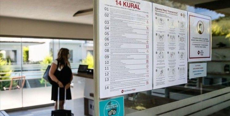 'Güvenli Turizm Sertifikası' alan 3 bin 63 tesis Kovid-19'a karşı mücadelesini tescilledi