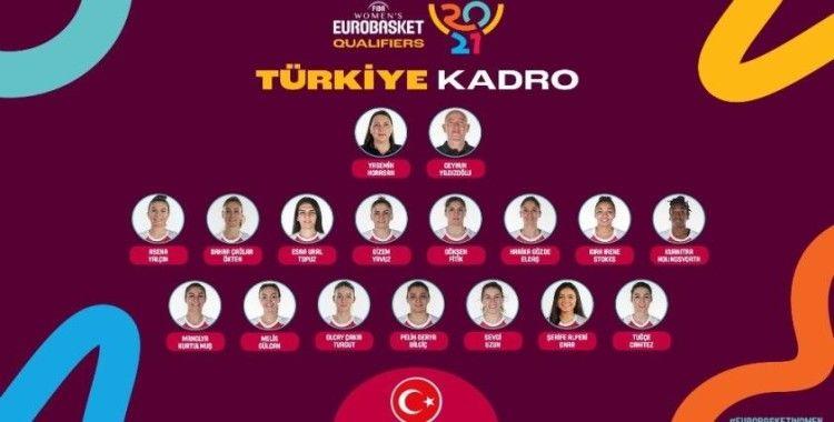 A Milli Kadın Basketbol Takımı'nın aday kadrosu açıklandı