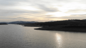 Karların erimesiyle Ömerli Barajı dolmaya başladı