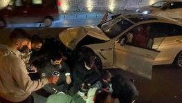 İstanbul'un göbeğinde feci 'makas' kazası kamerada
