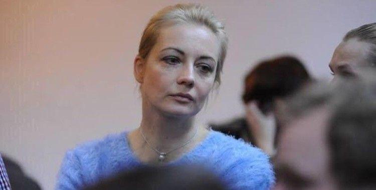Navalni'nin eşi de gözaltına alındı