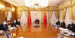 Cumhurbaşkanı Erdoğan, Dış Politika Değerlendirme Toplantısı'na başkanlık etti