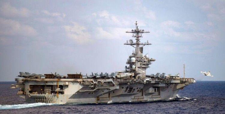 ABD-Çin gerilimi tırmanıyor! Uçak gemisi ulaştı