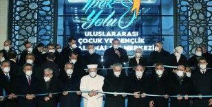 Cumhurbaşkanı Erdoğan, İpek Yolu Uluslararası Çocuk ve Gençlik Çalışmaları Merkezi'nin açılışını yaptı