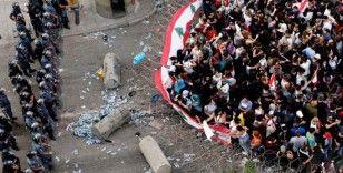 Lübnan'da sokağa çıkma yasağı protestosu: 41 yaralı