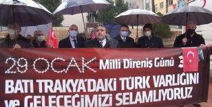 Batı Trakya Türkleri Dayanışma Derneğinden Yunan Başpiskopos İeronimos'a tepki