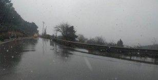 Anadolu Yakası'nda beklenen kar yağışı başladı