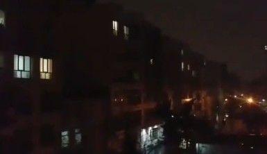 Tahran'da hava saldırısı alarmı nedeniyle siren sesleri yükseldi