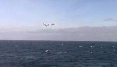 Rus savaş uçağı, ABD savaş gemisi yakınında alçak uçuş yaptı
