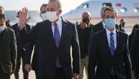 Dışişleri Bakanı Mevlüt Çavuşoğlu Kıbrıs'ta