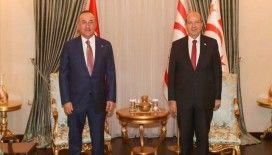 KKTC Cumhurbaşkanı Tatar: Türkiye'nin Kıbrıs meselesinde bizimle fikir birliği içinde olması bize güç katıyor