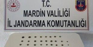 Mardin'de Roma dönemine ait tarihi eserler ele geçirildi