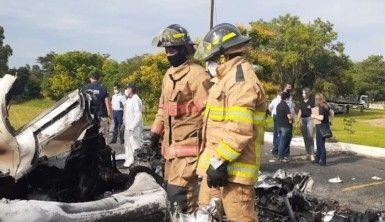 Paraguay'da askeri uçak düştü