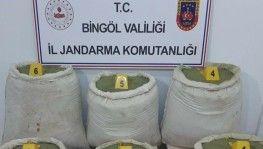Bingöl'de 218 kilo uyuşturucu ele geçirildi