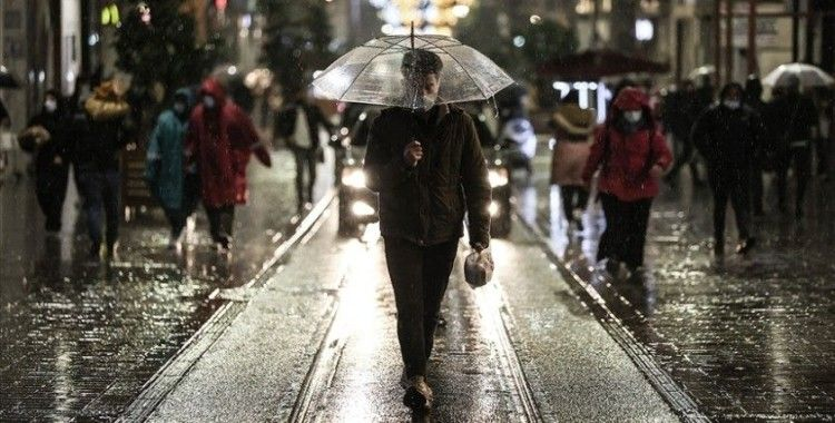 Marmara Bölgesi'nde yağmur ve sağanak bekleniyor