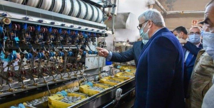 Diyarbakır Valisi Münir Karaloğlu: 'Amacımız Kulp ilçesinde ipekçiliği geliştirmek'