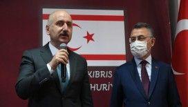 Ulaştırma Bakanı Karaismailoğlu: 'KKTC'nin altyapısını büyütüp, geliştireceğiz'
