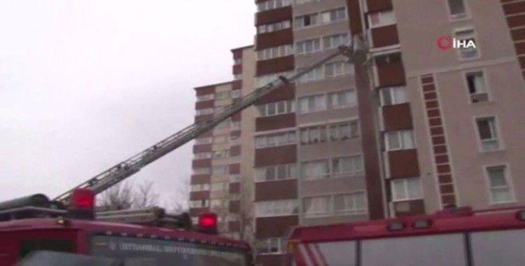 Bahçelievler'de bulunan 14 katlı bir binada patlama