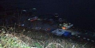 Samsun'da kamyonet baraj gölüne uçtu: 3 ölü, 1 yaralı