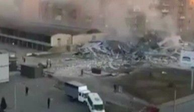 Rusya'da süpermarkette patlama