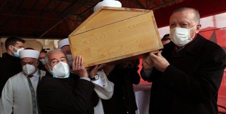 Erdoğan, Hafız Abdullah Nazırlı'nın cenaze törenine katıldı: Binlerce hafızı yetiştirmek her yiğidin karı değil