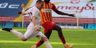 Süper Lig: Kayserispor: 0 - MKE Ankaragücü: 0 (Maç Sonucu)