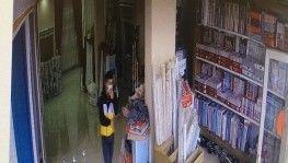 Bir günde iki ayrı hırsızlık yapan şahıs kamerada